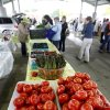 Farmers show their produce during the opening day of the Edmond Farmers Market in Edmond, OK, Saturday, April 17, 2010. By Paul Hellstern, The Oklahoman