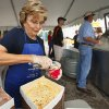 Rosemary Osborn dips up some of Tuttle\'s finest during the Ice Cream Festival on Saturday, May 15, 2010, in Tuttle, Okla. Photo by Steve Sisney, The Oklahoman