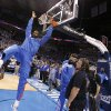 Oklahoma City\'s James Harden warms up before the game during Game 2 in the second round of the NBA playoffs between the Oklahoma City Thunder and the L.A. Lakers at Chesapeake Energy Arena on Wednesday, May 16, 2012, in Oklahoma City, Oklahoma. Photo by Chris Landsberger, The Oklahoman
