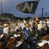 Edmond North students gather before the start of a high school football game against Yukon at Wantland Stadium in Edmond, Okla., Thursday, October 4, 2012. Photo by Bryan Terry, The Oklahoman
