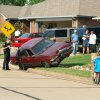Car abandoned after striking a mailbox in 900 block of Blueridge Drive in the Park Lane Estates addition. (6/7/2006) Community Photo By: Rob Ferguson Submitted By: Rob, Edmond