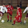 Edmond Memorial Sophomore Chris Wilson dribbles through the crowd. EMHS beat Ponca City 3-0 Friday, 4.7.2006. Community Photo By: Jeff Wilson Submitted By: Jeff, Edmond