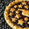 Photo -  A blueberry pie is made with blueberries from Broken Arrow's Thunderbird Berry Farm. Photo by Nate Billings, The Oklahoman  <strong>NATE BILLINGS -   </strong>