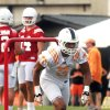 Photo - University of Tennessee wide receiver Josh Malone (3) goes through drills during practice Friday, Aug. 1, 2014, in Knoxville, Tenn. (AP Photo/The Daily Times, Mark A. Large) MANDATORY CREDIT