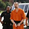 Glendon Carl Gouker of Prague, charged in the 2010 killing a 19-year-old man and cramming the victim\'s body into an oil drum, accepted a deal offered by Pottawatomie County District Attorney Richard Smothermon and agreed to plead guilty to the murder of Ethan James Walton and to additional charges of rape, kidnapping, possession of a firearm during the commission of a felony and possession of a controlled drug with intent to distribute. Gouker admitted to killing Waltonwho was 19 at the time and sexually assaulting the victim\'s 20 year-old girlfriend. He appeared in court in Shawnee on Thursday morning, Aug. 15, 2013. Photo by Jim Beckel, The Oklahoman.