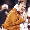Photo - Mack Brown's success has contributed to Texas' rise to the top of the Big 12 mountain. AP PHOTO