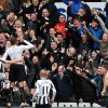 Photo - Newcastle United's Loic Remy, second left, celebrates his goal with his teammates during their English Premier League soccer match against Aston Villa at St James' Park, Newcastle, England, Sunday, Feb. 23, 2014. (AP Photo/Scott Heppell)