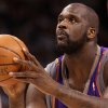 OKLAHOMA CITY THUNDER NBA BASKETBALL: Phoenix Suns center Shaquille O\'Neal shoots a free throw during the Thunder - Suns game December 29, 2008 in Oklahoma City. BY HUGH SCOTT, THE OKLAHOMAN ORG XMIT: KOD