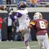 Anadarko\'s Josh Parton (3) makes a reception in front of Clinton\'s Devon Mitchell (6) during the Class 4A Oklahoma state championship football game between Anadarko and Clinton at Boone Pickens Stadium on Saturday, Dec. 1, 2012, in Stillwater, Okla. Photo by Chris Landsberger, The Oklahoman