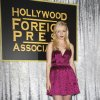 Francesca Eastwood attends HFPA and InStyle\'s Golden Globe award season celebration at Cecconi\'s on Thursday, Nov. 29, 2012, in West Hollywood. (Photo by Katy Winn/Invision/AP)