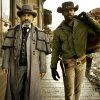 This undated publicity image released by The Weinstein Company shows, from left, Christoph Waltz as Schultz and Jamie Foxx as Django in the film