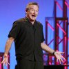 """Photo - This Nov. 23, 2009 photo released by Starpix shows actor-comedian Robin Williams performing his stand-up show, """"Weapons of Self Destruction,"""" at Town Hall in New York. After thousands of fans petitioned the creators of the online role-playing video game"""