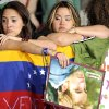 Fans from Venezuela, Roxanna Castillo, right, and Cristyn Albarran, are seen at the world premiere of