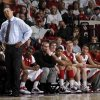 OU coach Jeff Capel and the OU bench watch during the NCAA college basketball game between the University of Oklahoma Sooners and Texas Longhorns at Lloyd Noble Center in Norman, Okla., Wednesday, Feb. 9, 2011. Photo by Bryan Terry, The Oklahoman ORG XMIT: KOD