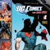 """An undated image provided by DC Comics shows the cover of its free guide, which is being printed in comic book proportions. DC Comics says it is prepping its readers and fans for its upcoming relaunch in September, offering up the free guide to its multiple relaunches of comic characters and series. The guide, """"DC Comics """"The New 52"""" will be given away free starting July 20 at comic book shops and at the annual Comic- Con International in San Diego, which starts next week, the publisher said Wednesday, July 13, 2011."""