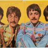 """This undated image provided by Heritage Auctions shows what is described as a """"pristine"""" copy of The Beatles' """"Sgt. Pepper's Lonely Hearts Club Band"""" album autographed by all four members of the band, that is up for auction. A statement from Dallas-based Heritage Auctions says the bidding for the album has passed $110,000 and could surpass $150,000 by the time bidding is closed on March 30. (AP Photo/Heritage Auctions)"""