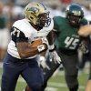 Southmoore\'s Karltrell Henderson (27) carries the ball during a high school football game between Edmond Santa Fe and Southmoore at Wantland Stadium in Edmond, Okla., Thursday, Sept. 20, 2012. Photo by Nate Billings, The Oklahoman