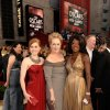From left, actress Amy Adams, nominated for an Oscar for Best Actress in a Supporting Role, actress Meryl Streep, nominated for an Oscar for Best Actress in a Leading Role, and actress Viola Davis, nominated for an Oscar for Best Actress in a Supporting Role for their roles in