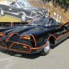 This October 2012 file photo provided by Barrett-Jackson/George Barris shows the original Batmobile in Los Angeles. Batman\'s original ride, from the 1960s TV series, has sold at auction for $4.2 million on Saturday, Jan. 19, 2013. (AP Photo/Courtesy Barrett-Jackson/George Barris, File)