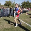 Chandler\'s Chris Lowery crosses the finish line to win the class 3A boys State cross country meet at Gordon Cooper Vo-Tech in Shawnee, OK, Saturday, October 20, 2012, By Paul Hellstern, The Oklahoman
