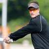 Co-offensive coordinator Gunter Brewer during the first Oklahoma State University fall football practice, in Stillwater, Okla., Thursday, July 31, 2008. BY MATT STRASEN, THE OKLAHOMAN