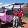 Don and G. Kay Powers of Edmond, Oklahoma on vacation recently in Coyote Canyon, Sedona, Arizona. Great place to visit, but it\'s nice to come home;Edmond is a great Place to live. Community Photo By: Pink Jeep Tour Guide Dianne Submitted By: Don , Edmond