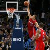 Los Angeles Clippers\' Blake Griffin (32) dunks the ball during an NBA basketball game between the Oklahoma City Thunder and the Los Angeles Clippers at Chesapeake Energey Arena in Oklahoma City, Thursday, Nov. 21, 2013. Photo by Bryan Terry, The Oklahoman