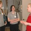Rebecca Cranford, OMRF\'s Small-Animal MRI research assistant, talks to Youth Leadership Exchange students about how the MRI allows scientists to use fewer animals in experiments. Community Photo By: Lisa Edgmon Submitted By: Greg, Oklahoma City