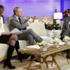 This image released by NBC shows co-hosts Savannah Guthrie, left, and Matt Lauer, center, during an interview with freelance photographer R. Umar Abbasi on NBC News\'