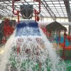 Left: The Water- Zoo Indoor Water Park in Clinton has more than 500 feet of slides.