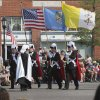 The Knights of Columbus carry the colors during the annual LibertyFest Fourth of July Parade in downtown Edmond, OK, Thursday, July 4, 2013, Photo by Paul Hellstern, The Oklahoman