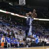 Memphis\' Tony Allen (9) dunks the ball in the final seconds of Game 2 in the second round of the NBA playoffs between the Oklahoma City Thunder and the Memphis Grizzlies at Chesapeake Energy Arena in Oklahoma City, Tuesday, May 7, 2013. Oklahoma City lost 99-93. Photo by Bryan Terry, The Oklahoman