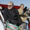Bob Barry and brother Frank ride in a carriage as grand marshalls in honor of their father the late Bob Barry Sr. during the Norman Holiday Christmas Parade on Saturday, Dec. 10, 2011, in Norman, Okla. Photo by Steve Sisney, The Oklahoman