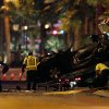 Tow truck drivers clean up and tow away cars involved in a drive-by shooting on Las Vegas Boulevard in Las Vegas Thursday, Feb. 21, 2013. (AP Photo/Las Vegas Review-Journal, John Locher) LOCAL TV OUT; LOCAL INTERNET OUT; LAS VEGAS SUN OUT
