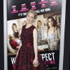 Cast member Elizabeth Banks poses at the Los Angeles premiere of the film