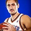 NENAD KRSTIC poses for a photo during the Oklahoma City Thunder media day on Monday, Sept. 27, 2010, in Oklahoma City, Okla. Photo by Chris Landsberger, The Oklahoman