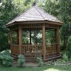 This is a gazebo in the park area of the Stonemill housing addition in Oklahoma City, OK, Thursday, July 16, 2009. By Paul Hellstern, The Oklahoman
