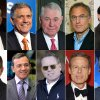 Photo -  The 10 highest-paid CEOs of 2013, as calculated by The Associated Press and Equilar, an executive pay research firm are: Top row, from left: Anthony Petrello, Nabors Industries, $68.2 million; Leslie Moonves, CBS, $65.6 million; Richard Adkerson, Freeport-McMoRan Copper & Gold, $55.3 million; Stephen Kaufer, TripAdvisor, $39 million; and Philippe Dauman, Viacom, $37.2 million. Bottom row, from left: Leonard Schleifer, Regeneron Pharmaceuticals, $36.3 million; Robert Iger, Walt Disney, $34.3 million; David Zaslav, Discovery Communications, $33.3 million; Jeffrey Bewkes, Time Warner, $32.5 million; and Brian Roberts, Comcast, $31.4 million. AP Photo   Uncredited -  AP