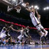 NBA BASKETBALL: Oklahoma City\'s Russell Westbrook (0) shoots a layup during Game 3 of the Western Conference Finals between the Oklahoma City Thunder and the San Antonio Spurs in the NBA playoffs at the Chesapeake Energy Arena in Oklahoma City, Thursday, May 31, 2012. Photo by Sarah Phipps, The Oklahoman