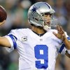 Dallas Cowboys quarterback Tony Romo passes in the first half of an NFL football game against the Philadelphia Eagles, Sunday, Nov. 11, 2012, in Philadelphia. (AP Photo/Michael Perez)