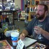 Artist Paul Milligan talks to fans at a local comics shop. Photo by Annette Price, for The Oklahoman.