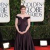 Actress and filmmakerr Lena Dunham arrives at the 70th Annual Golden Globe Awards at the Beverly Hilton Hotel on Sunday Jan. 13, 2013, in Beverly Hills, Calif. (Photo by Jordan Strauss/Invision/AP)