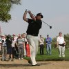 Photo - Phil Mickelson of the U.S. follows his ball on the 2nd hole during the 1st round of the Abu Dhabi HSBC Golf Championship in Abu Dhabi, United Arab Emirates, Thursday, Jan. 16, 2014. (AP Photo/Kamran Jebreili)