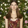 This undated product image released by Gucci shows a model wearing a floral print dress from the Gucci Cruise collection. (AP Photo/Gucci)