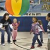 Physical education teacher Tammeria Fade plays volleyball with her kindergarten students at Eastside Elementary School on Friday, Jan. 7, 2011, in Midwest City, Okla. Fade thought she would lose all her mobility due to her tumor treatment, but was able to maintain her ability to move, keep teaching and start the spring semester tumor-free. Photo by Chris Landsberger, The Oklahoman