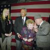 Photo -   FILE - In this Sunday, Jan. 17, 1993 file photo, actor Mickey Rooney, right, leans in to talk to Dr. Ruth Westheimer, center, as they wait with New York City Major David Dinkins, second from left, at Penn Station New York, headed for Washington aboard a special train to attend festivities surrounded the inauguration of President-elect Bill Clinton. The woman on the left is unidentified. In 1980, Westheimer broke into late-night radio with