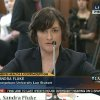 Photo -   In this image made from Thursday, Feb. 23, 2012 video provided by C-SPAN, Sandra Fluke, a third-year Georgetown University law student, testifies to Congress in Washington. Limbaugh drew fire Friday, March 2, 2012 from many directions for his depiction of Fluke as a