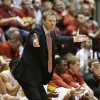 Photo - Iowa State head coach Fred Hoiberg reacts to a call during the first half of an NCAA college basketball game against Baylor, Tuesday, Jan. 7, 2014, in Ames, Iowa. (AP Photo/Charlie Neibergall)