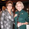 GIRL SCOUT LUNCHEON....Luncheon co-chairman Charlotte Richels and advisory committee member Dannie Bea Hightower were at the sponsor party. (Photo by Helen Ford Wallace).