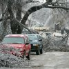 WINTER / COLD / WEATHER / ICE STORM / DAMAGE: Trees cover the streets in the 3200 block of Cashion Place in Oklahoma City , Okla. Dec. 11, 2007. BY STEVE GOOCH, THE OKLAHOMAN. ORG XMIT: KOD
